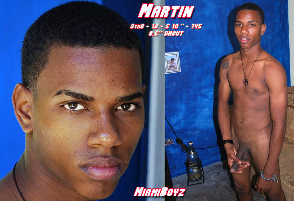 Hot Young Martin Shows His Perfect Uncut Latin Cock